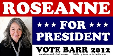 Barr for President banner not available