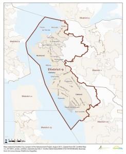 9th Senate District map unavailable